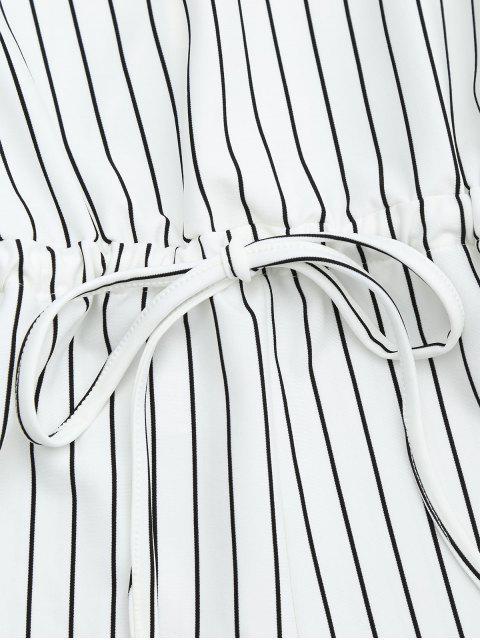 combinaison à cordon de serrage à manches longues avec fente - Noir Bande TAILLE MOYENNE Mobile