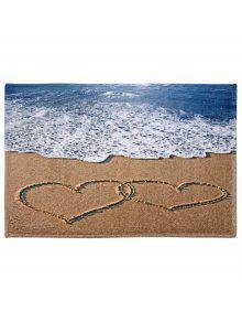 القلب، طباعة، حيوان بحري يتشكل منه المرجان، المخمل، منطقة حمام، بطانية - W16 بوصة * L24 بوصة