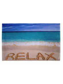 المرجان الصوف الشاطئ موضوع حمام البساط - W16 بوصة * L24 بوصة