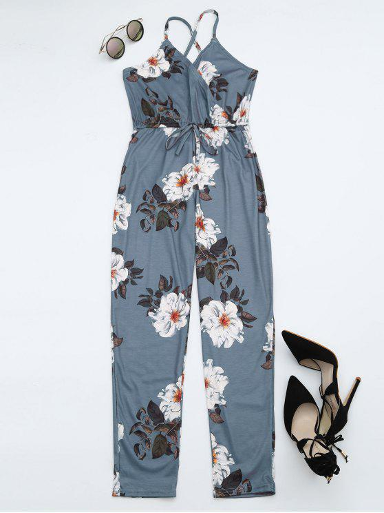 Chaqueta de punto Criss Cross Cami - Floral XL