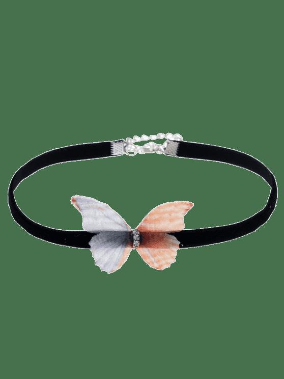Collar embellecido del ahogador de la mariposa - Colormix