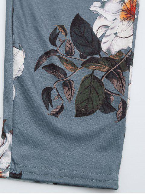 Combinaison Cami imprimée floral entrecroisée - Floral XL Mobile