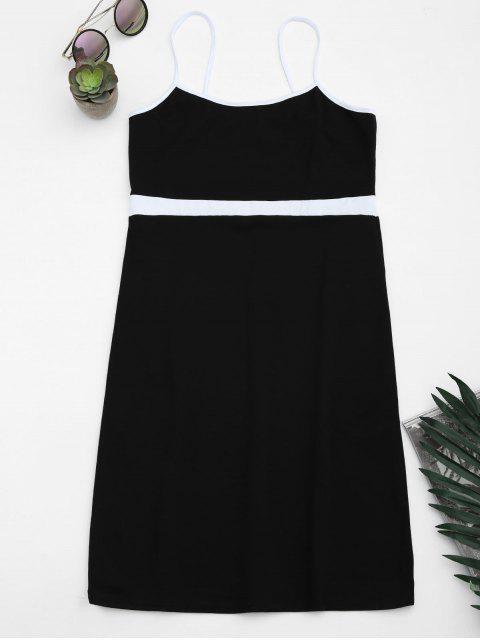 Robe bandeau mi-longue - Noir S Mobile