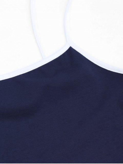 Robe bandeau mi-longue - Bleu Violet S Mobile
