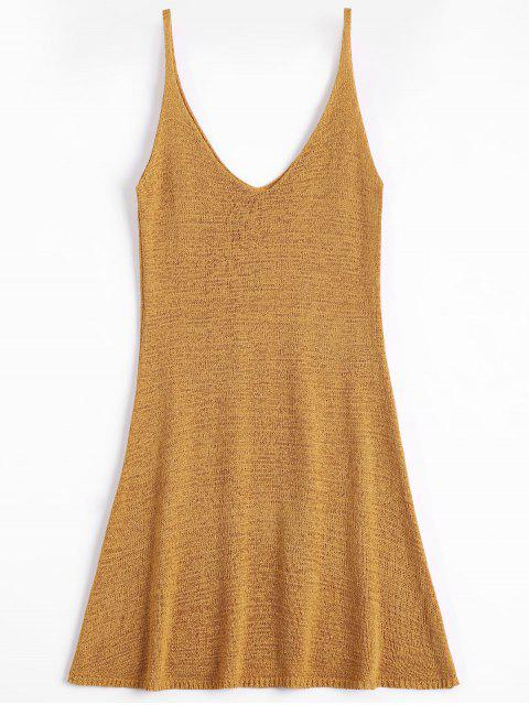 buy Mini Cami A Line Dress - EARTHY ONE SIZE Mobile
