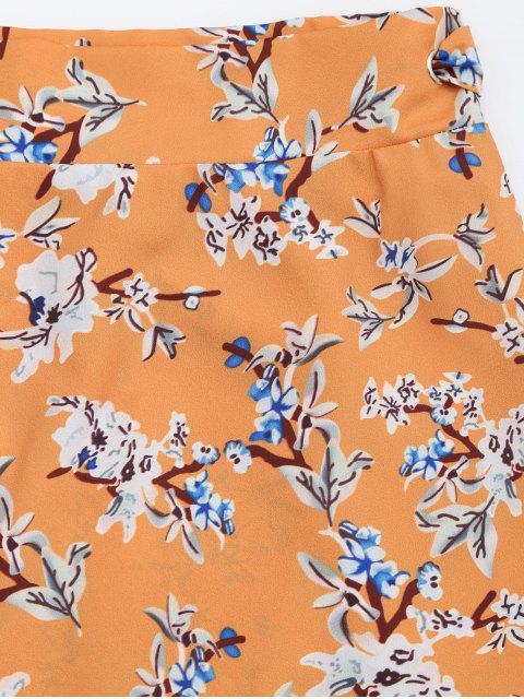 Ensemble de coupe et jupe à fleurs - Floral M Mobile
