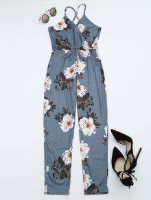 Chaqueta De Punto Criss Cross Cami - Floral S