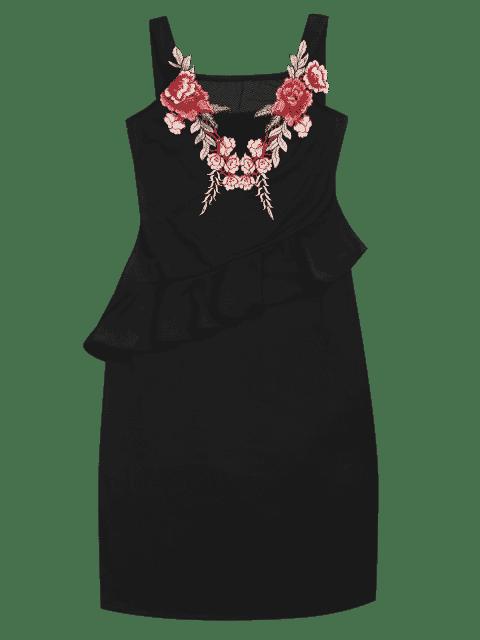 Robe Bodycon - Noir S Mobile