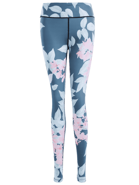 Jambières de yoga - Floral S Mobile