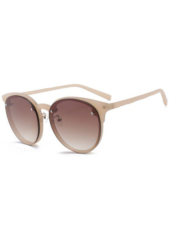 chic Ramp Shader Anti UV Sunglasses - TEA-COLORED