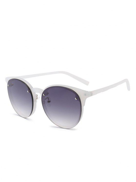 fashion Ramp Shader Anti UV Sunglasses - GRAY