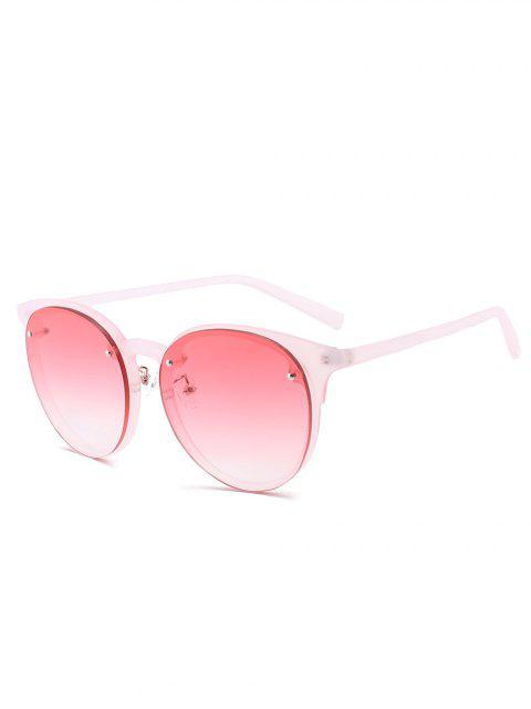 unique Ramp Shader Anti UV Sunglasses - RED  Mobile