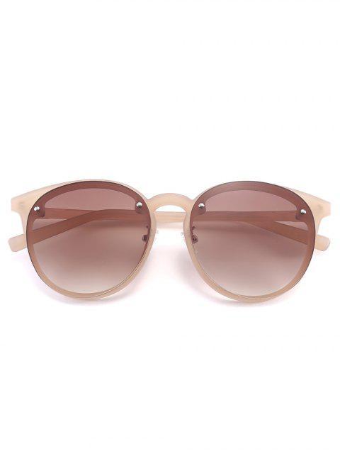 chic Ramp Shader Anti UV Sunglasses - TEA-COLORED  Mobile