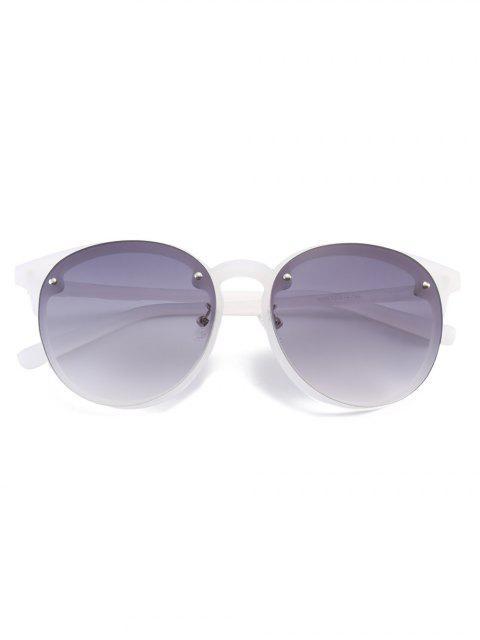 fashion Ramp Shader Anti UV Sunglasses - GRAY  Mobile