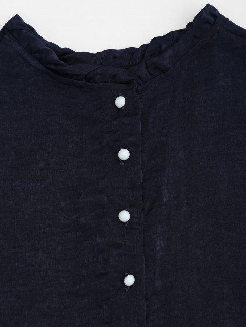 Ensemble flasque à manches courtes et à shorts - Bleu Violet L Mobile