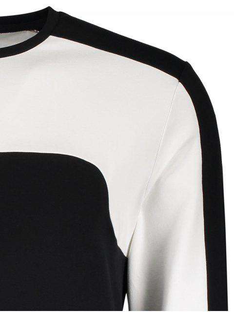 Sweat noir en coton pour les hommes - Noir M Mobile