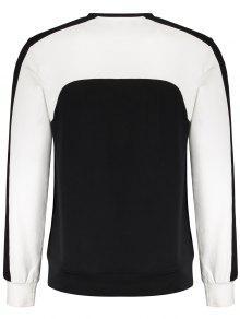 243;n M Tonos Panel De De Dos Negro De Camiseta Algod APRwB