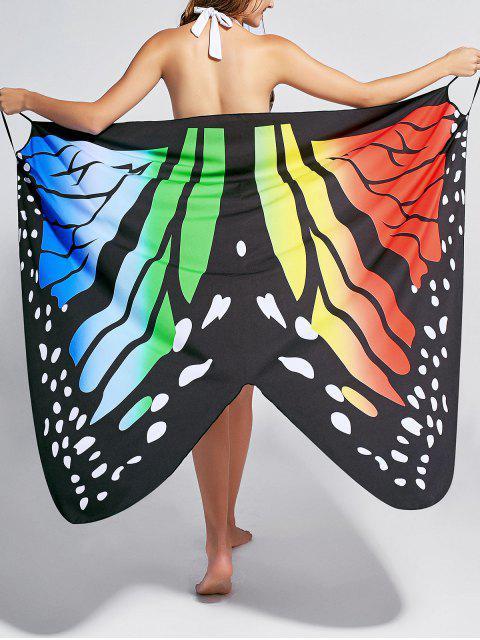 Robe de survêtement pour imprimé papillon - Coloré XL Mobile