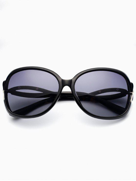 buy Hollow Cut Anti UV Sunglasses - PHOTO BLACK