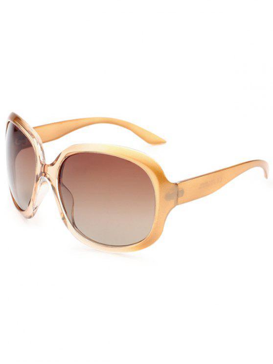 Óculos de sol polarizados com proteção UV à prova de sol - Champanhe