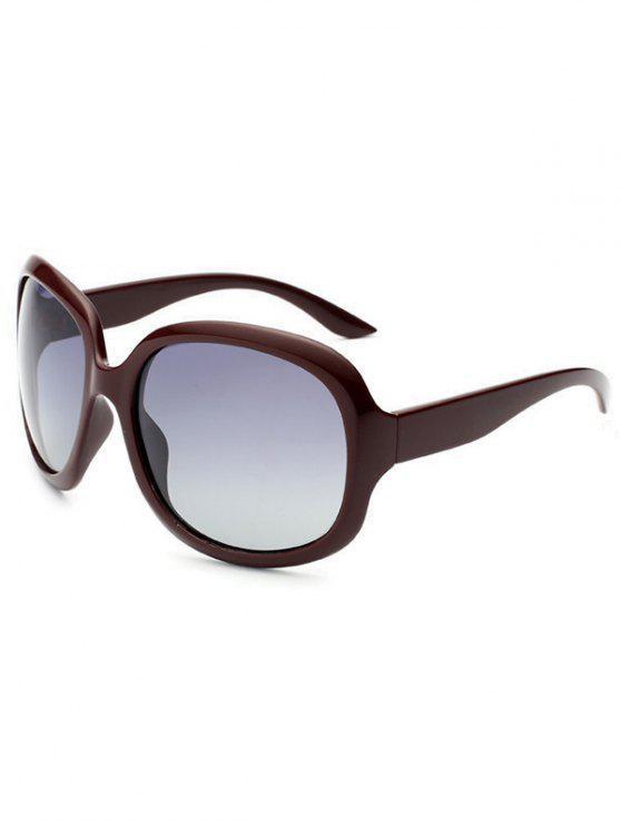 Óculos de Sol de Anti UV Polarizados à prova de Sol - Vermelho Tinto