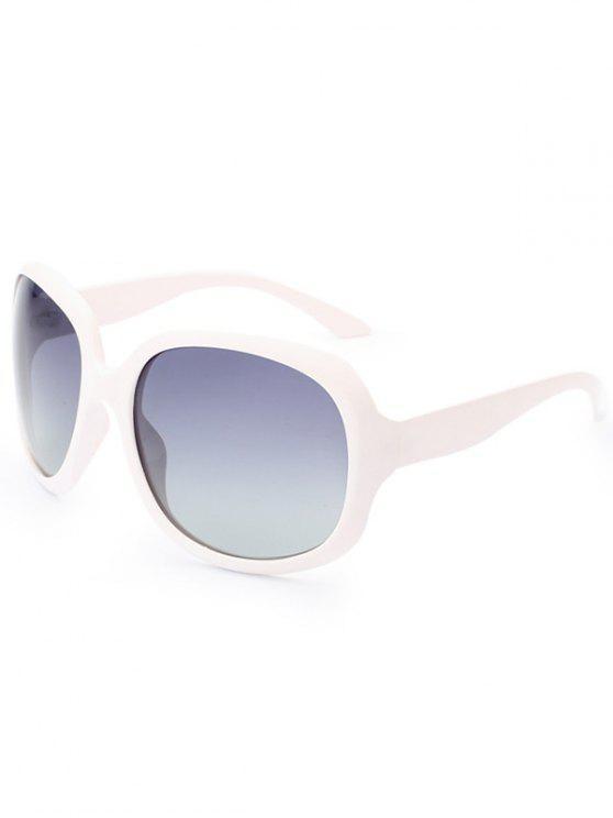 Protección UV Gafas de Sol Polarizadas - Blanco