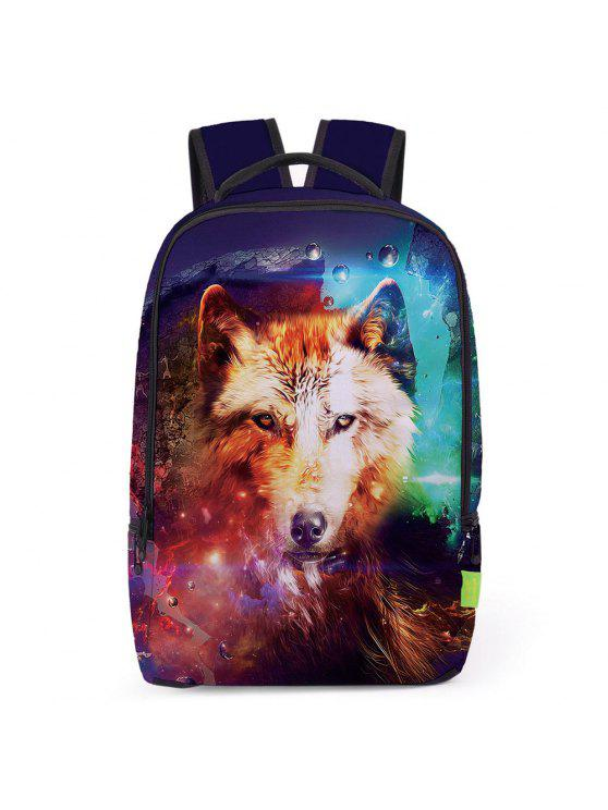 Sac à Dos Imprimé Animal 3D - Multi