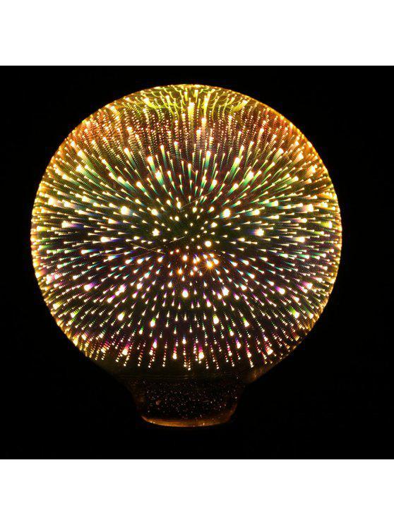 5 واط e27 ليد 3d ضوء لمبة الإبداعية الملونة الزخرفية مصباح - ملون E27