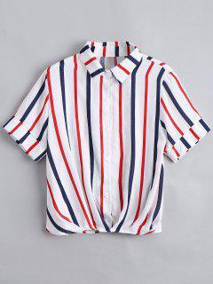 Chemise Boutonnée Boutonnée Boutonnée - Rouge