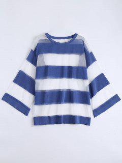Blusa De Espalda - Azul Claro