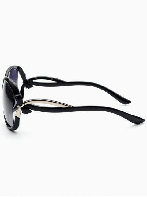 buy Hollow Cut Anti UV Sunglasses - PHOTO BLACK  Mobile