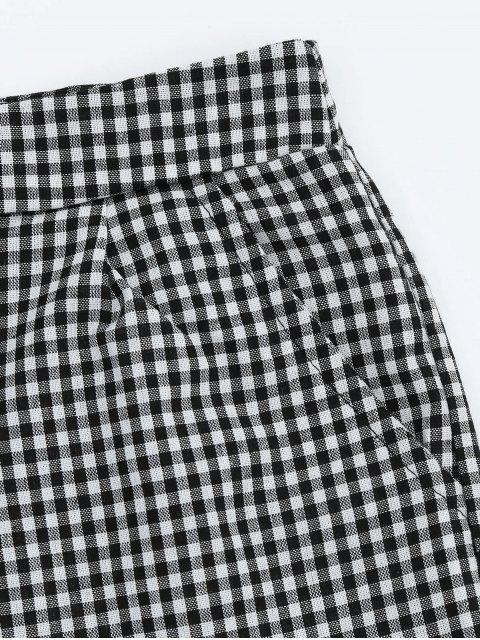 Shorts de poche à volants à volants - Carré L Mobile