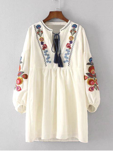 womens Floral Patched Dress and Cami Dress Set - PALOMINO M Mobile