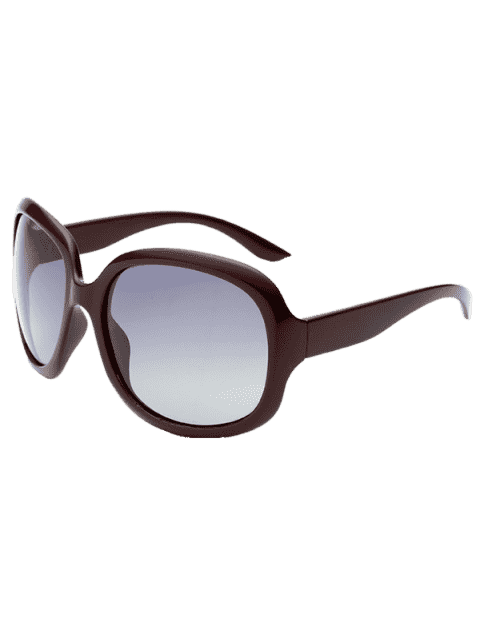 trendy  Sunproof UV Protection Polarized Sunglasses  - CLARET  Mobile