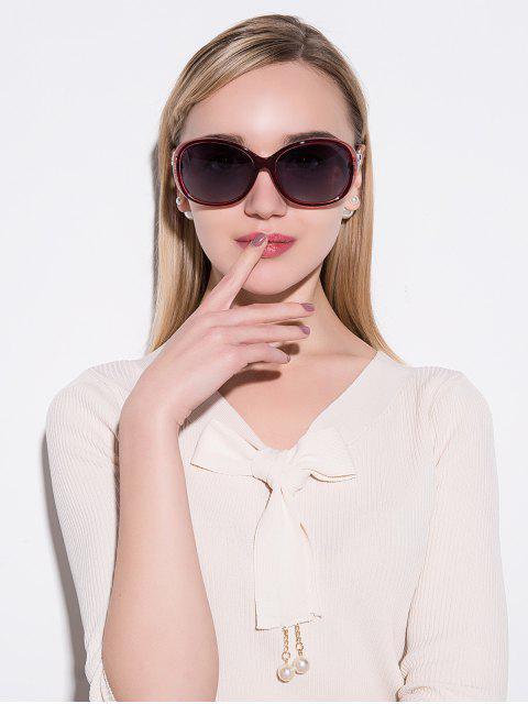 hot Anti UVPolarized Sunglasses - RED  Mobile