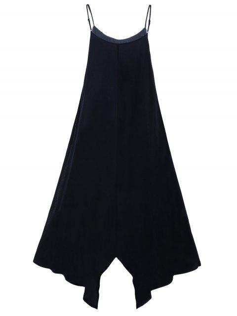 Robe de soirée à manches longues - Noir 2XL Mobile