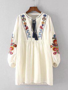 الأزهار فستان مطرز و كامي اللباس مجموعة - بالومينو S