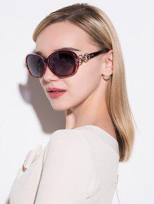 أنتي أوف الاستقطاب النظارات الشمسية - أحمر