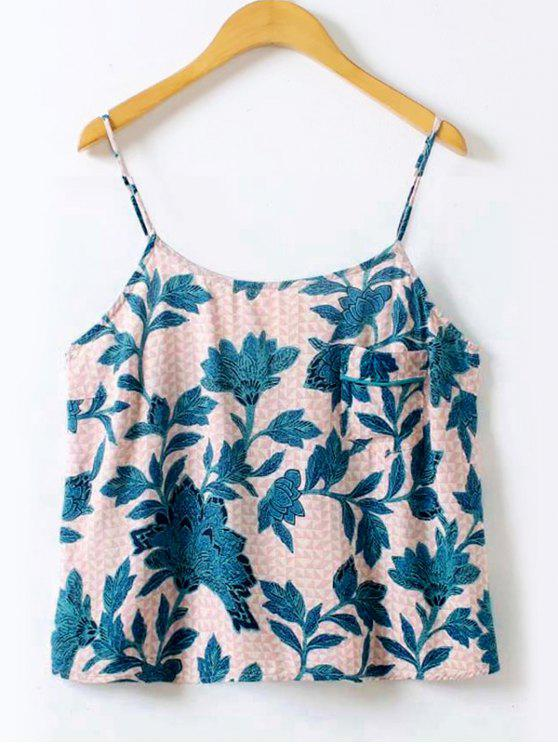 online Floral Printed Cami Top - FLORAL L