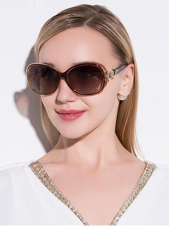 أنتي أوف الاستقطاب النظارات الشمسية - بلون الشاي