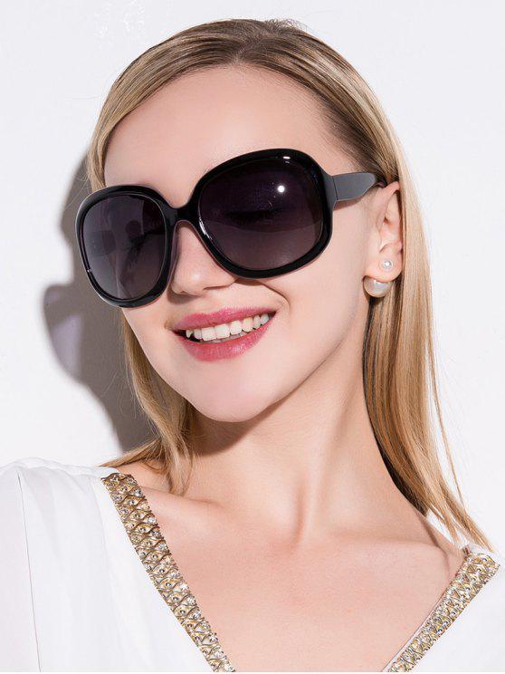نظارات شمسية مضادة للأشعة فوق البنفسجية - أسود