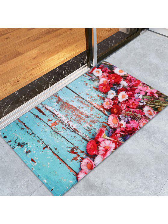 الرجعية لوح الأزهار ديكور المنزل أنتيسليب منطقة البساط - Colormix W24 بوصة * L35.5 بوصة