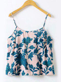 Floral Printed Cami Top - Floral M