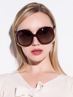 Sunproof UV Protection Polarized Sunglasses - Tea-colored