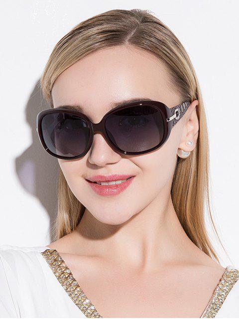Gafas de sol de protección UV decoración de diamantes de imitación - Vino Rojo  Mobile