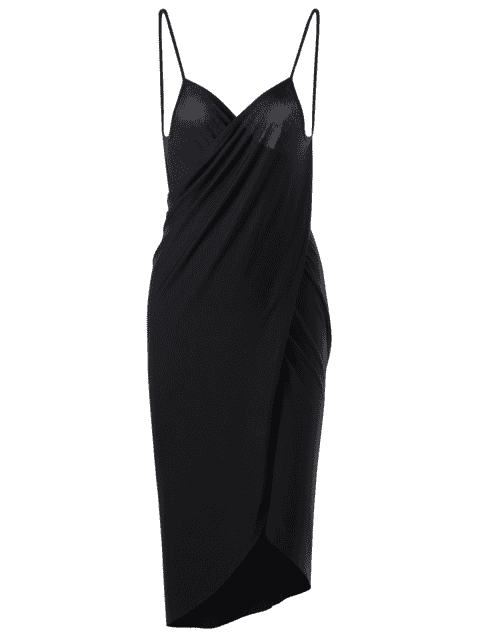 Robe enrubanneuse grand format - Noir 4XL Mobile