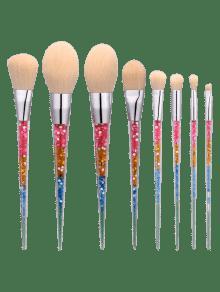 8Pcs Nylon Tapered Shape Makeup Brushes Set