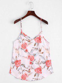 Floral Print Cami Top - Floral Xl