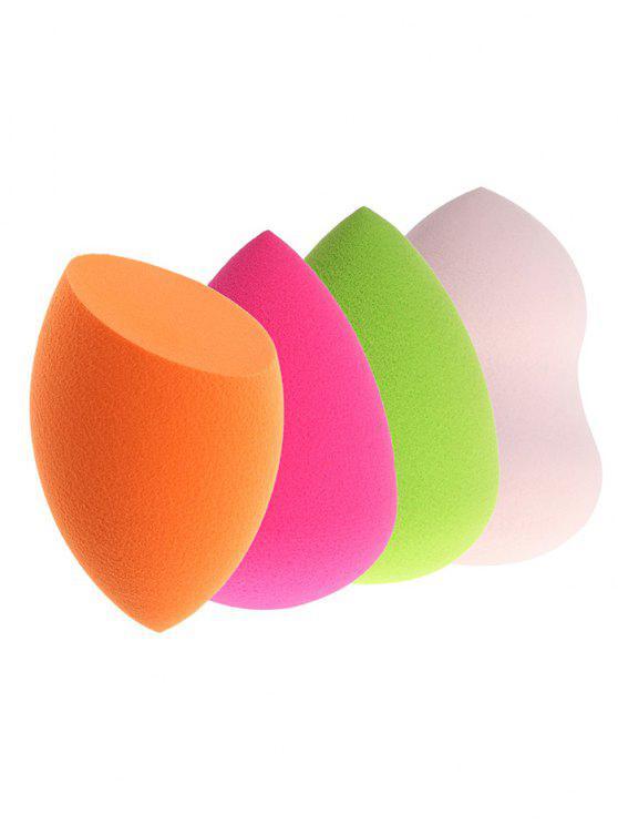 4 قطع بروو بيوتي اسفنجات لكريم الاساس باشكال اسفنج متعددة - Colormix