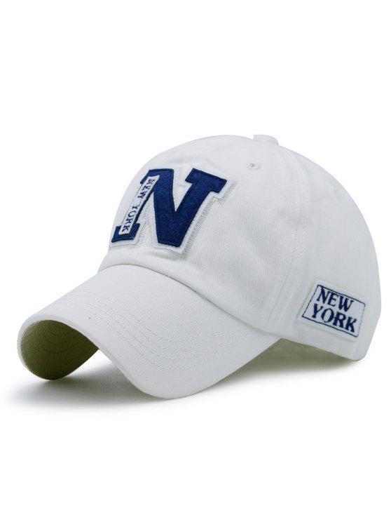 رسائل خليط سونبروف قبعة البيسبول - أبيض